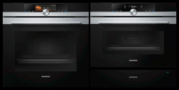 Siemens HB678GBS6B / CM633GBS1B / BI510CNR0B - Single Oven / Combi Microwave / Warming Drawer Pack