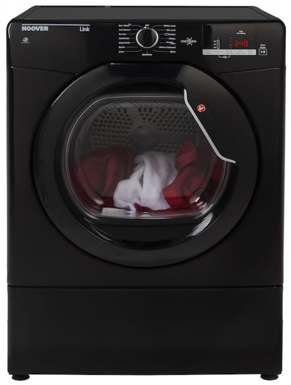 Hoover HLV8DGB Vented Tumble Dryer