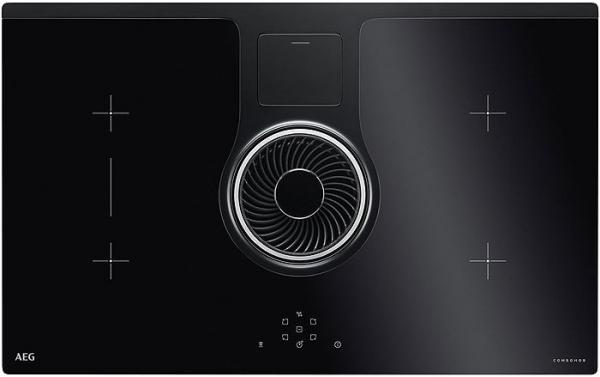 AEG IDE84241IB Induction Hob with Extraction