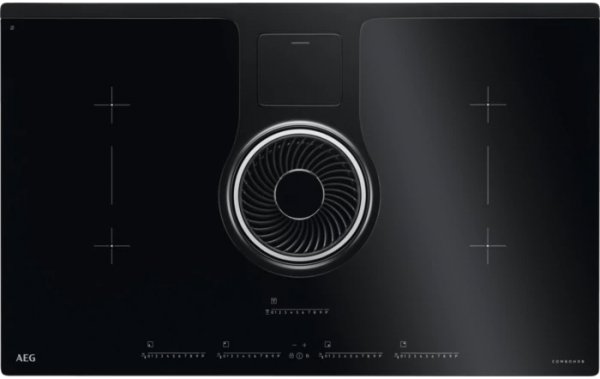 AEG IDK84452IB Induction Hob with Extraction