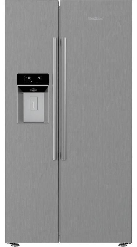 Blomberg KWD253PX American Style Side by Side Fridge Freezer