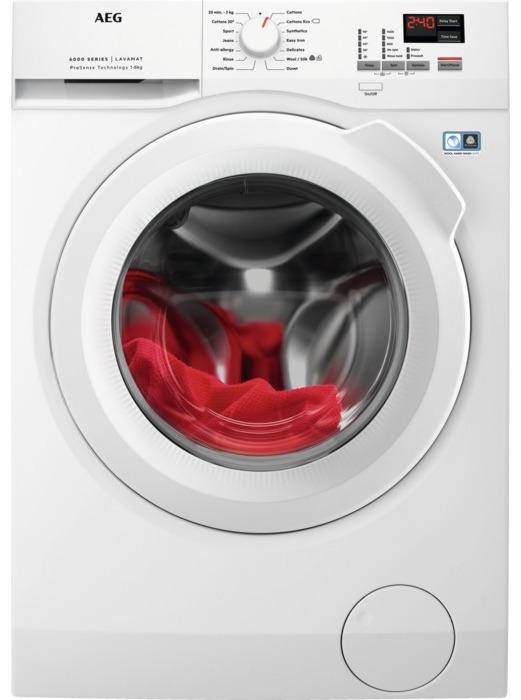 AEG L6FBK841N 8kg Washing Machine