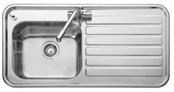 Leisure LX105R Right Handed Luxe Single Sink