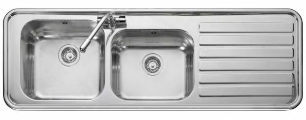 Leisure LX155R Right Handed 2 Bowl Sink