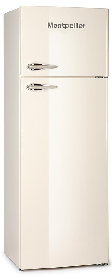 Montpellier MAB345C Retro Top Mount Fridge Freezer
