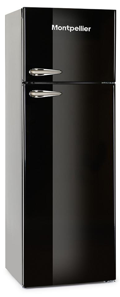 Montpellier MAB345K Retro Top Mount Fridge Freezer