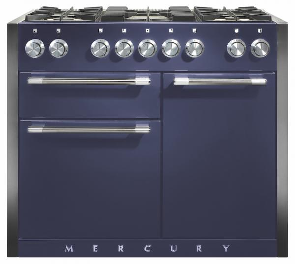 Mercury MCY1082DFBB/ 93280 1082 Dual Fuel Blueberry Range Cooker (Display)