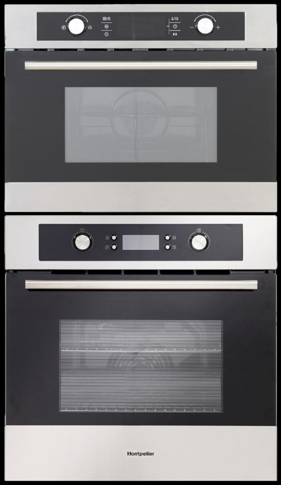 Montpellier SFO70MX / MWBIC90044 - Single Oven / Combi Microwave Pack