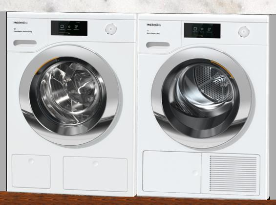 Miele WCR860WPS / TCR860WP - M Touch Washing Machine / M Touch Heat Pump Dryer Pack