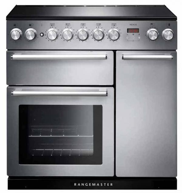 Rangemaster NEX90EISS/C 106190 Nexus 90cm Stainless Steel Induction Range Cooker