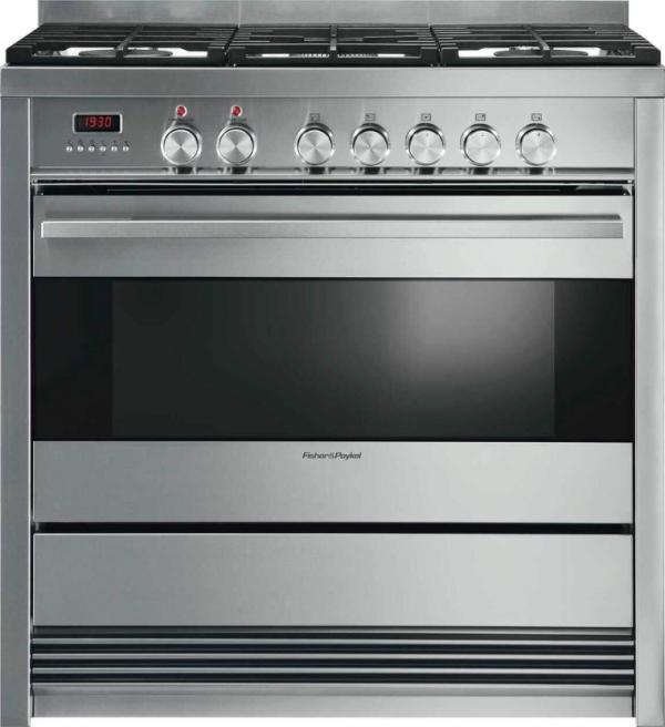 Fisher & Paykel OR90SDBGFX3 90cm Dual Fuel Cooker