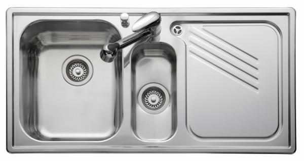 Leisure PL9852R Right Handed Proline Single Sink