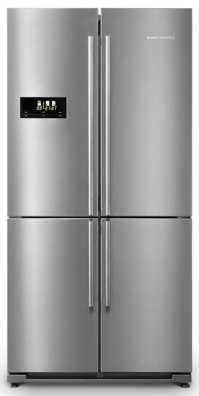 Rangemaster RSXS18SS 119060 RSXS American Style Side by Side Fridge Freezer