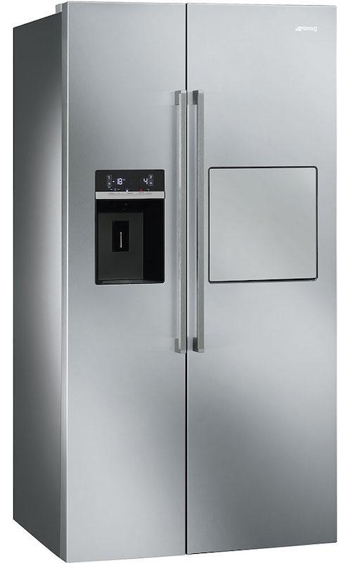 Smeg Sbs63xedh American Style Side By Side Fridge Freezer