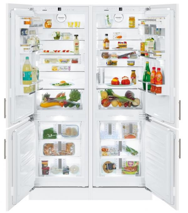 Liebherr SBS 66I2 / SBS66I2 Integrated Side by Side Frost Free Fridge Freezer