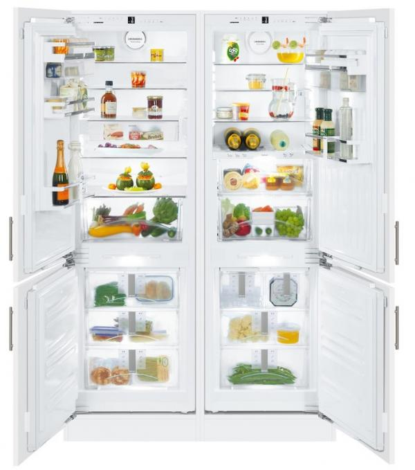 Liebherr SBS 66I3 / SBS66I3 Integrated Side by Side BioFresh Fridge Freezer