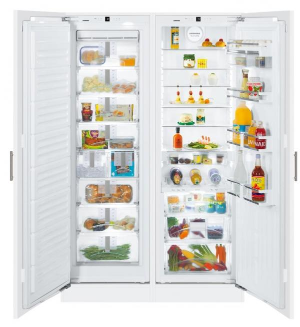 Liebherr SBS 70I4 / SBS70I4 Integrated Side by Side BioFresh Fridge Freezer