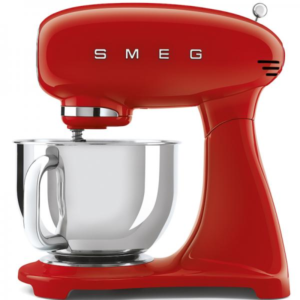 Smeg SMF03RDUK Red 50's Retro Stand Mixer