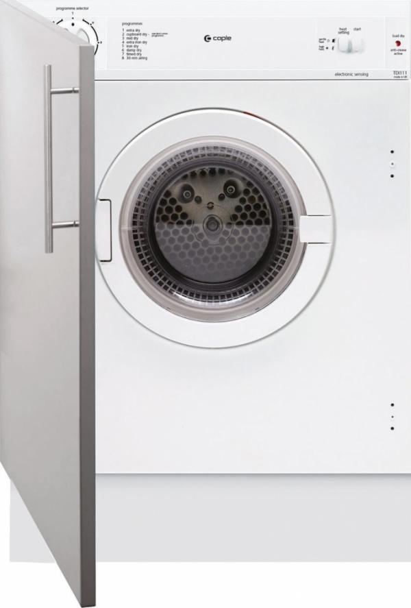 Caple TDI111 Fully Integrated Vented Tumble Dryer