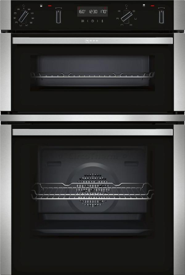 Neff U2ACM7HN0B Built-In Pyrolytic Double Oven