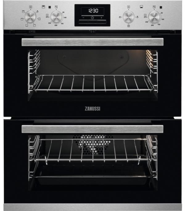 Zanussi ZOF35601XK Built-Under Double Oven