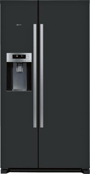 Neff KA3902B20G Black American Side by Side Fridge Freezer