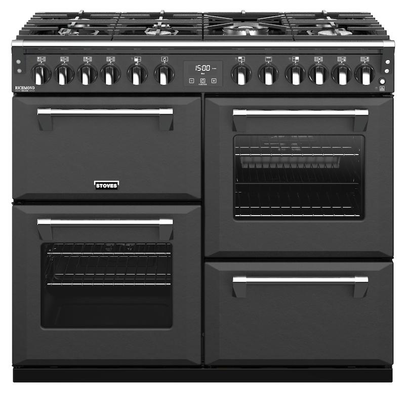 Stoves 444410292 S1000df Richmond Deluxe 100cm Anthracite