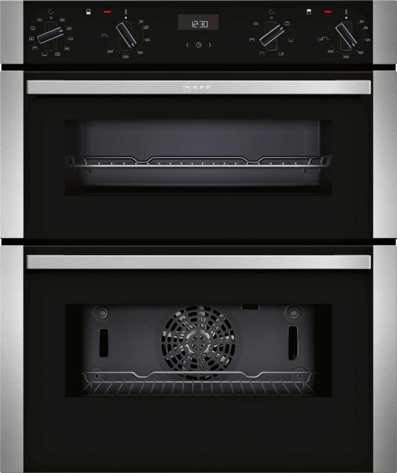 Neff J1ace4hn0b Built Under Double Oven Whitakers Of Shipley